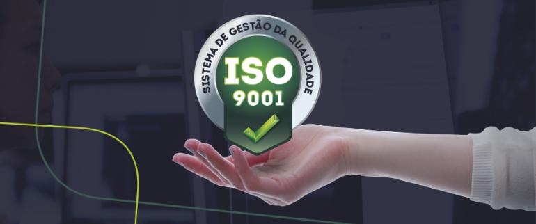 Aprimorar conquista a Certificação ISO 9001 - Gestão da Qualidade.